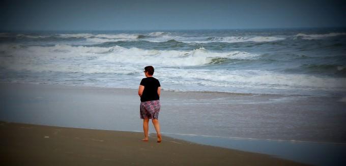 Walking the Beach at The Nam Hai