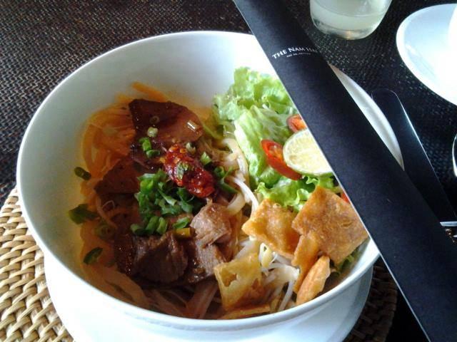 The Nam Hai - Breakfast Cau Lau