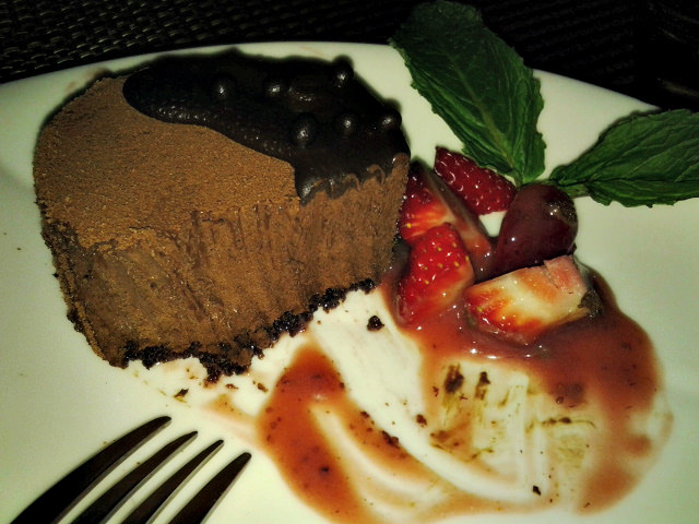 Chocolate Mousse Cake at Bimini Steakhouse