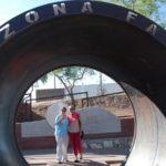 Jill and Ethel at Arizona Falls