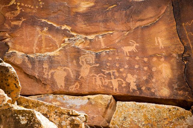 Petroglyphs Utah Nine Mile Canyon Nine Mile Canyon Rock Art ©