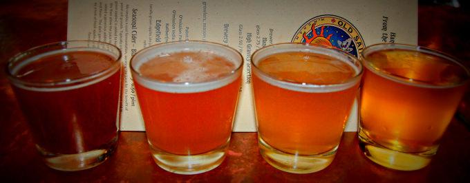 Central Oregon Beer Week 2014 - McMenamins Featured Beer Flight