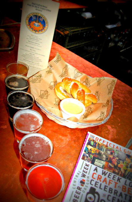 McMenamins Old St. Francis - Our Brewery Taster Tray