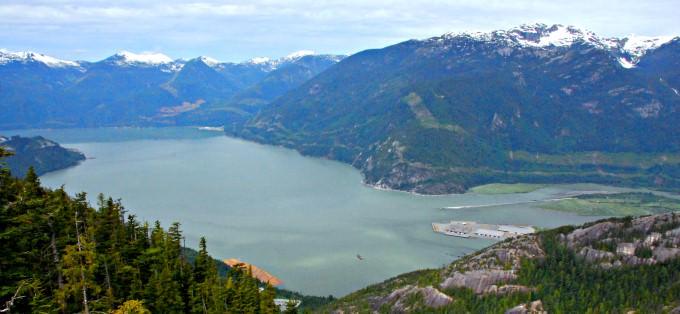 Howe Sound Fjord