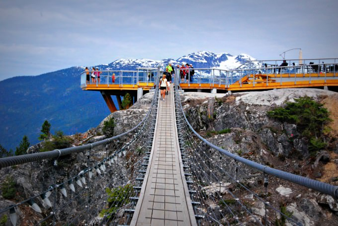 Sky Pilot Suspension Bridge at Sea to Sky Gondola