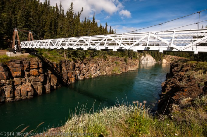 Suspension Bridge at Miles Canyon, Yukon