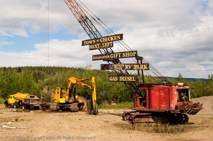 Road Trip to Chicken, Alaska