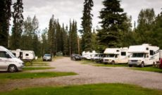 Postcard From Riverview RV Park & QuickStop in North Pole, Alaska