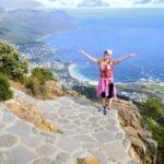 Stunning views of the Atlantic reward those who make the climb up Lion's Head