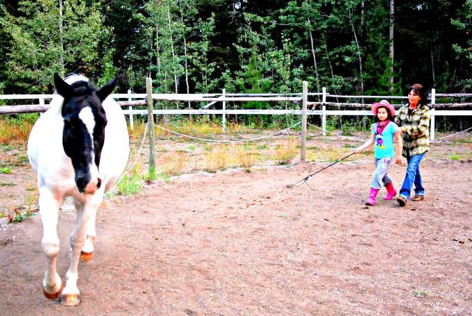 Jada Learns Horse Whispering