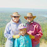 Jada with Viv and Jill at The Hills Health Ranch