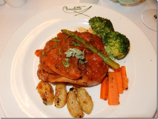 Veal Osso Bucco with Potato Gnocchi