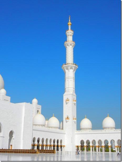 Central Courtyard of Sheik Zayad Grand Mosque