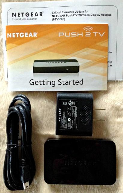 Netgear Push2TV in the Package