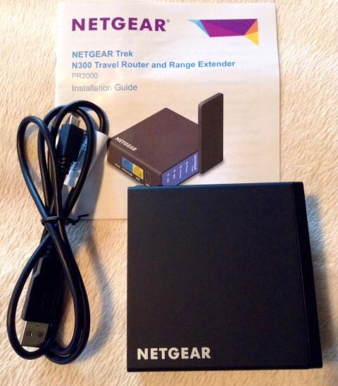 Netgear Trek N300 - In the Package