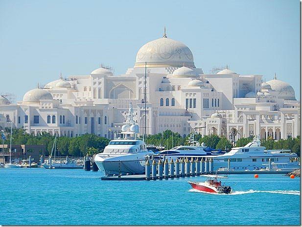 New Palace of Sheik of Abu Dhabi