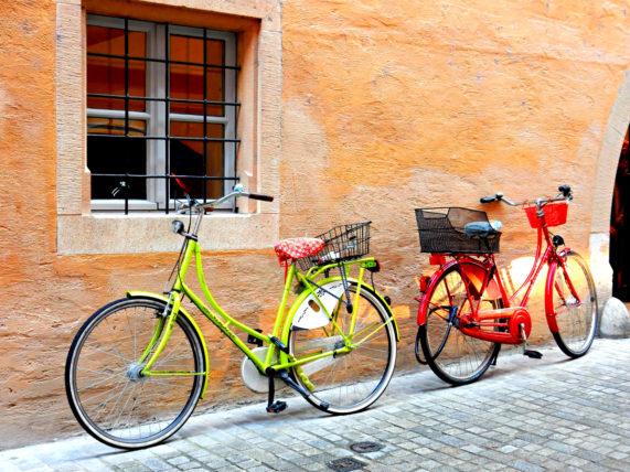 Bicycles in Regensburg, Germany