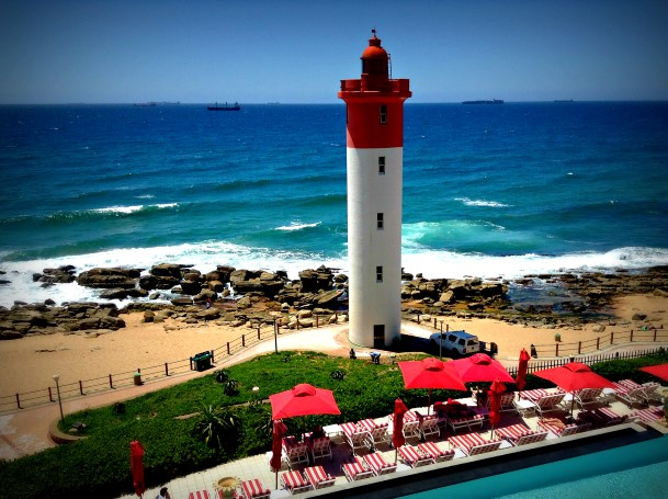 Indian Ocean and Umhlanga Lighthouse
