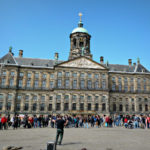 Amsterdam Royal Palace in Dam Square