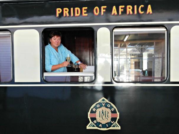 Viv on Rovos Rail Pride of Africa