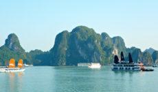 Cruising in Halong Bay, Vietnam