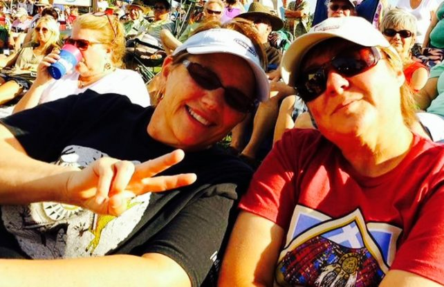 Jill and Viv in Central Oregon July 2015