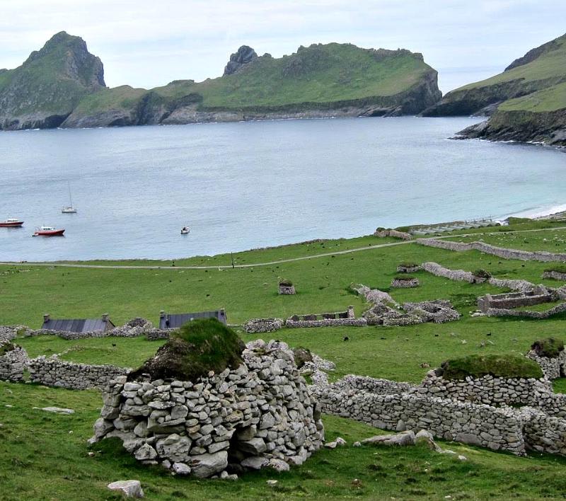 St Kilda to Village Bay