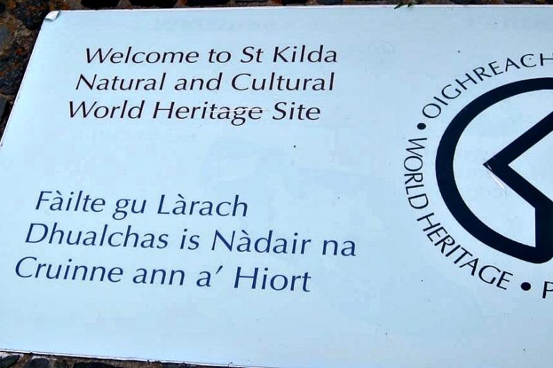 Welcome to St Kilda UNESCO Site
