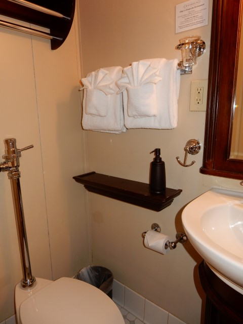 S.S. Legacy Cabin 315 Bathroom