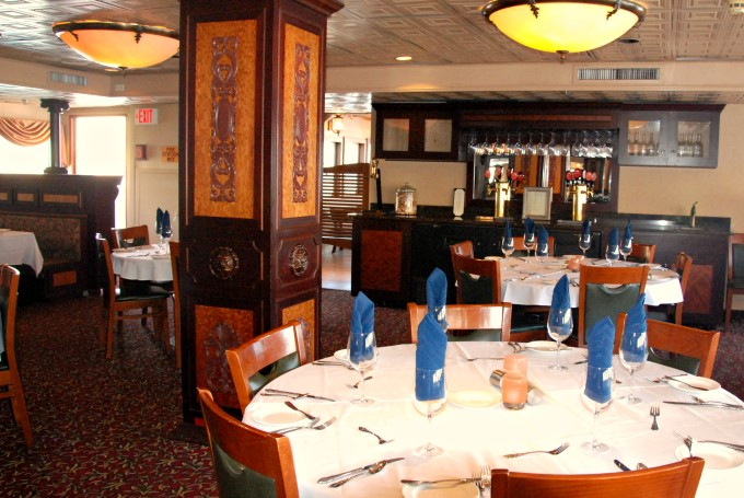 S.S. Legacy Dining Room
