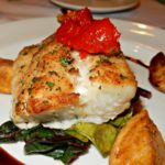 S.S. Legacy Dinner Main Course Option - Herb Crusted Ling Cod