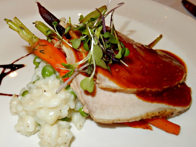 S.S. Legacy Dinner Main Course - Slow-Roasted Pork Loin