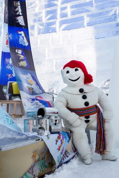 Quebec City Winter Carnival Bonhomme