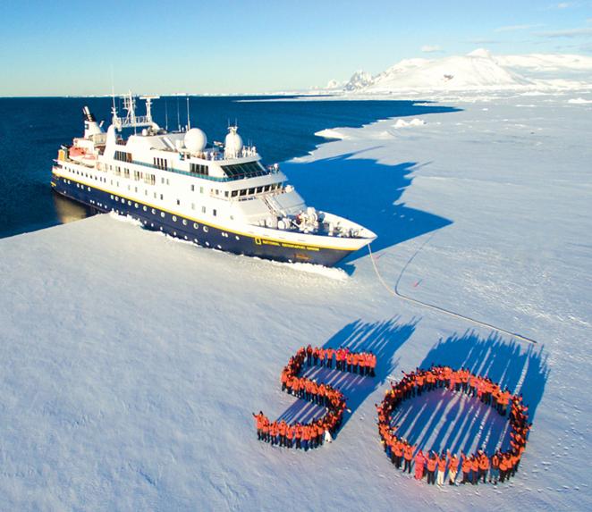 Lindblad Expeditions Celebrates 50th Anniversary of Voyage to Antarctica