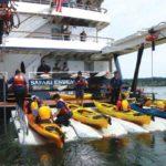 Kayak Launch from Safari Endeavour