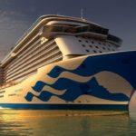 Majestic Princess Debuts New Hull Livery Design
