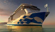 Majestic Princess Showcases New Fleetwide Hull Livery Design