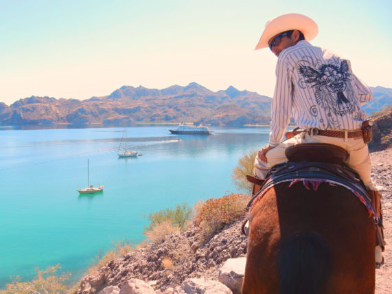Burro Riding on the Baja with Un-Cruise Adventures
