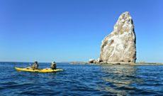 Kayak Around Roca Solitaria at Bahia Agua Verde
