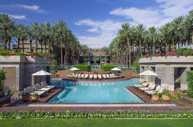 Hyatt Regency Scottsdale Resort Courtyard Pool
