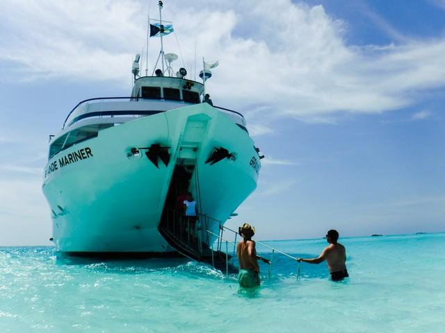 Grande Mariner Bow Landing in The Bahamas