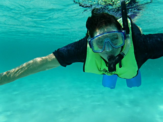 Jill Goes Snorkeling in the Bahamas with Blount Small Ship Adventures
