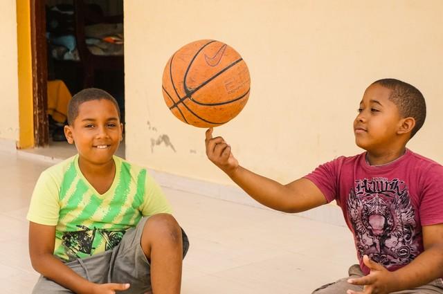 Kids in the Dominican Republic