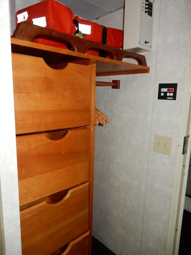 Grande Mariner - Cabin 50A storage