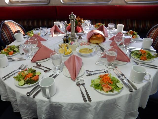Grande Mariner - Table Set for Dinner