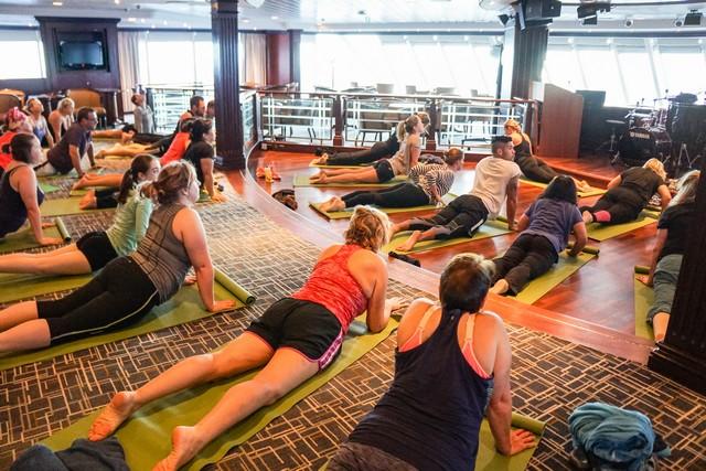 Morning Yoga on Adonia