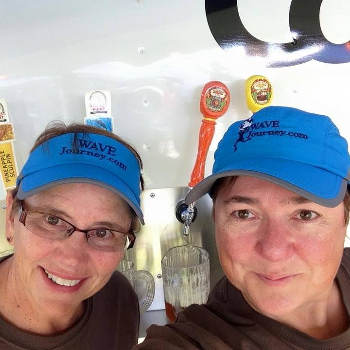 Jill and Viv at Bend Brewfest 2016