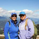 September2016 Travel Tips and Tales Newsletter - Jill and Viv at Whistler, BC.