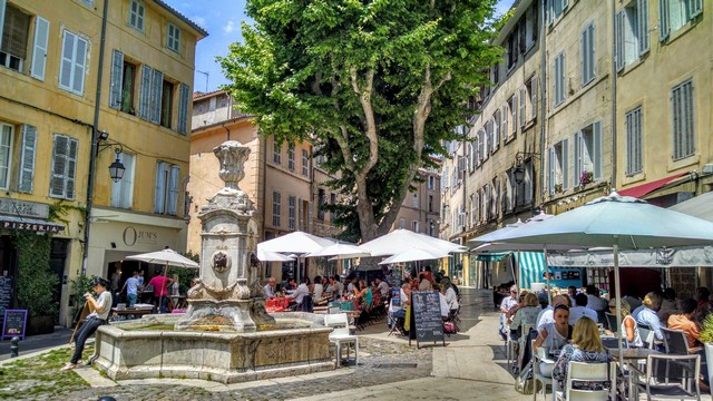 Aix en Provence in France by Patti Maghamfar