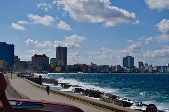 El Malecon in Havana, Cuba